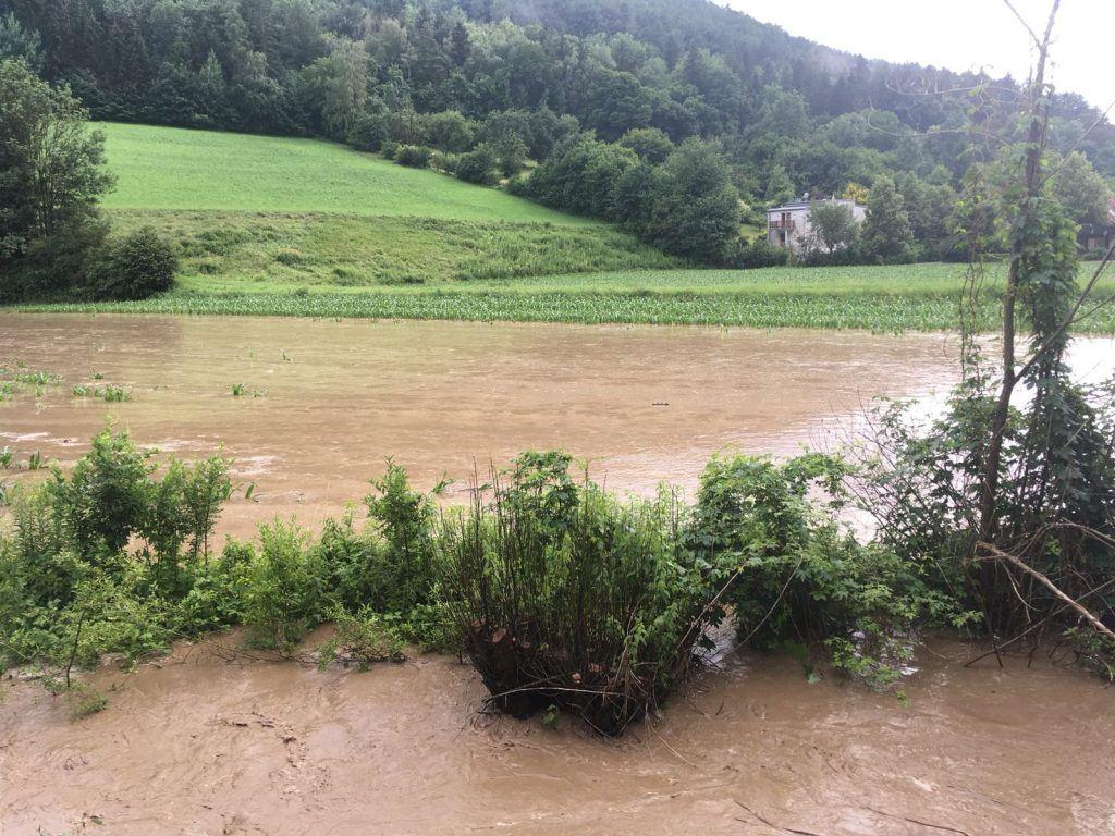 Ueberschwemmung Wechselgebiet