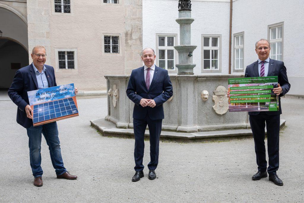 Beutelmeyer, Hiegelsberger, Weinberger (c) LandOÖ Ehrengruber